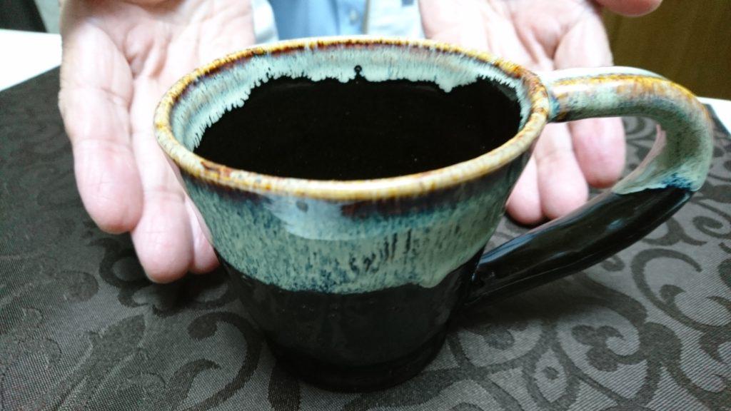 初めて作ったコーヒーカップです!