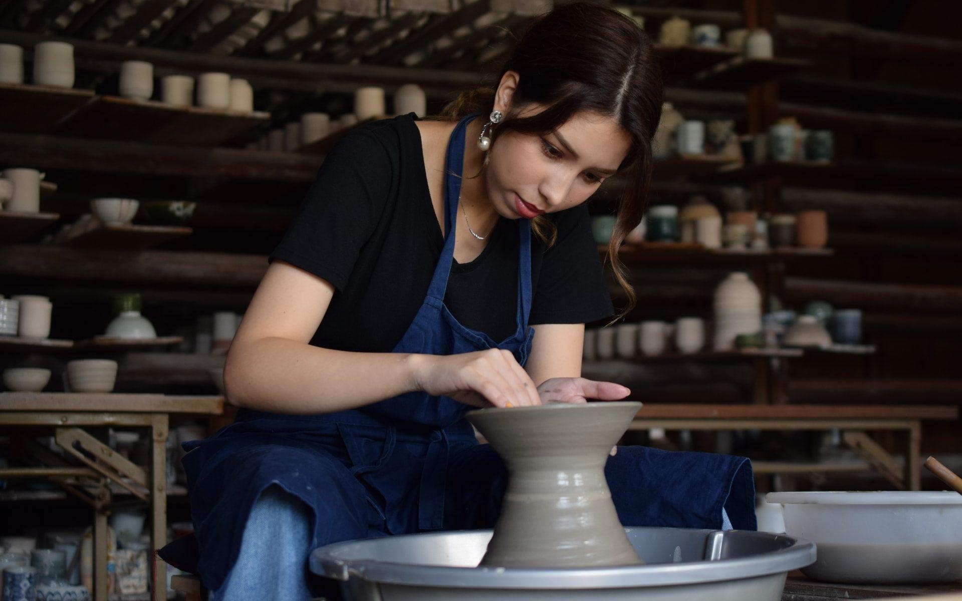 【外で楽しむ趣味】陶芸